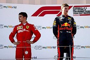 Climão: Leclerc ignora festa da champanhe no pódio da Áustria