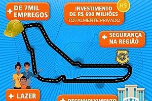 Власти Рио-де-Жанейро сделали рекламу своего нового автодрома. С трассой «Монца»