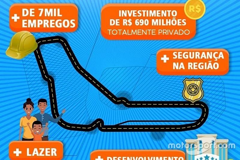 Prefeitura do RJ usa traçado de Monza para promover construção de autódromo