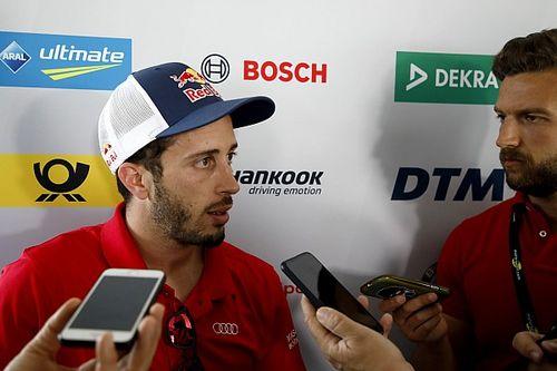 """Dovizioso si... avvicina ai piloti DTM: """"Fantastico, ma era più contenta l'Audi di me!"""""""