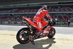 """Petrucci uninjured after """"very heavy"""" 220km/h crash"""