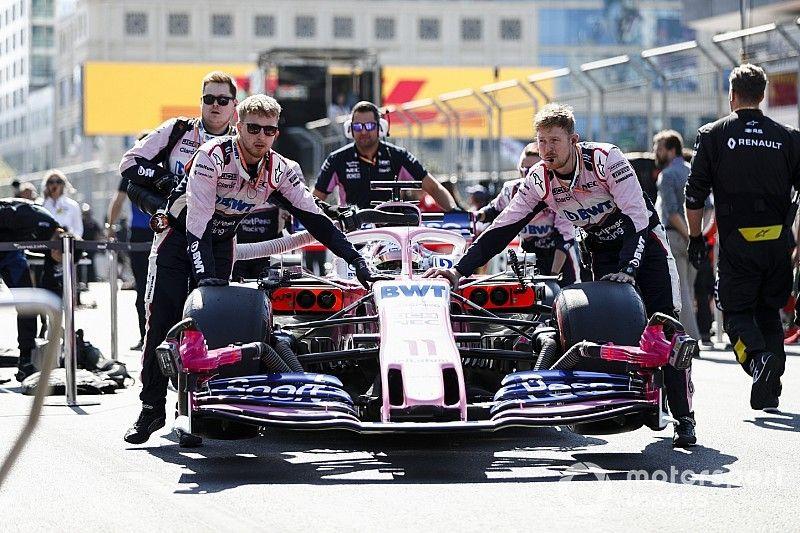 """Racing Point: mejoras en España son """"un paso sustancial"""""""