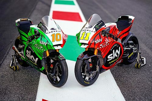 Fotogallery: ecco le livree tricolori per il Mugello dello Sky Racing Team VR46