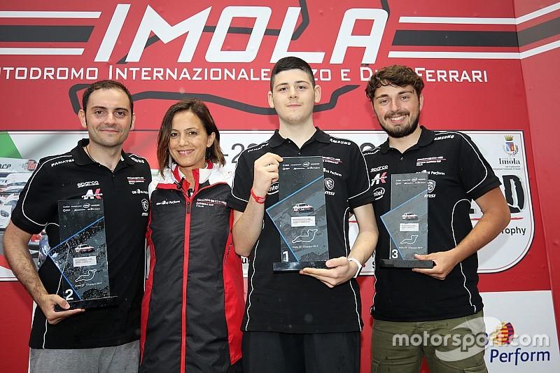 Tonizza balza in vetta alla Porsche Esports Carrera Cup Italia a Imola