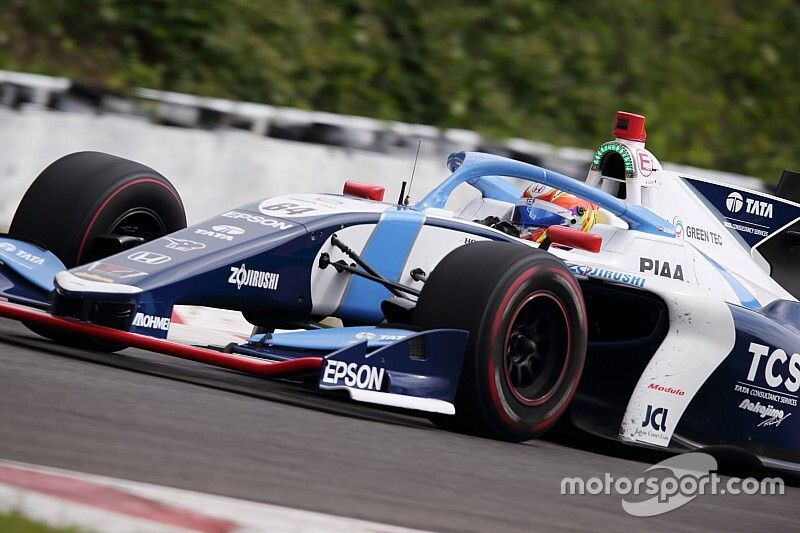 """Palou """"very lucky"""" to fight for title in rookie year"""