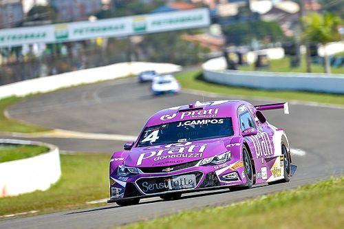 Campos comemora 2º lugar para corrida 1 da Stock em Londrina, sua 'segunda casa'