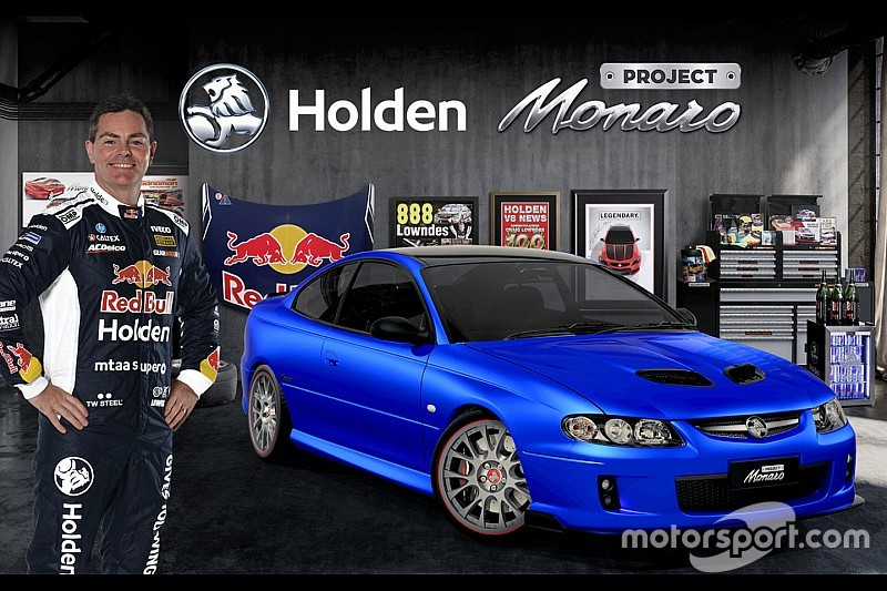 Lowndes joins Holden's 'Project Monaro'
