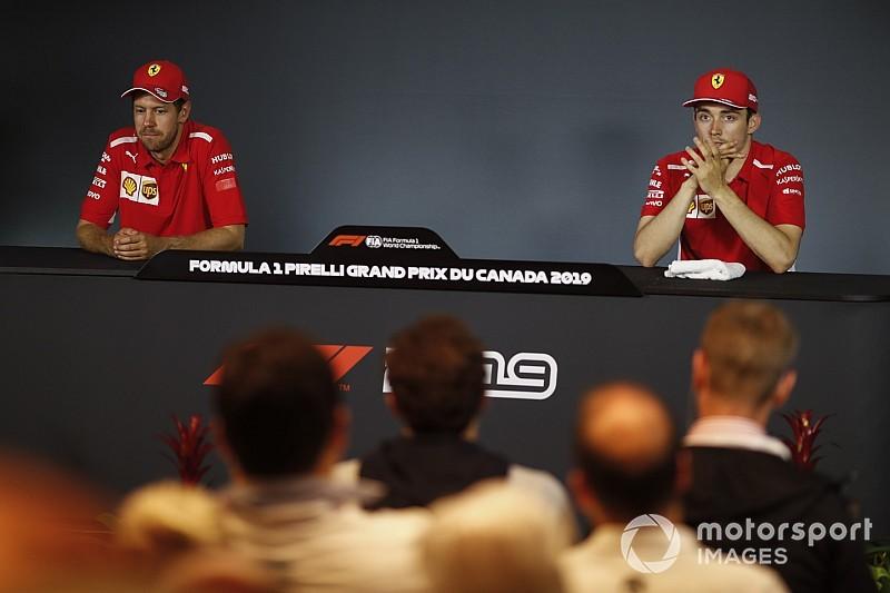 """Leclerc: """"Vettel motiváltabb, mint valaha és nem vonul vissza"""""""