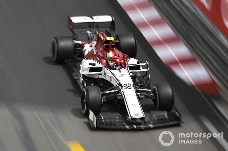 Giovinazzi pénalisé sur la grille à Monaco