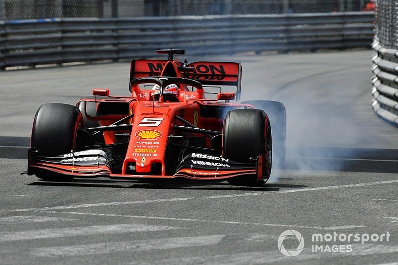 """Vettel peine à se trouver en """"confiance"""" dans la Ferrari"""