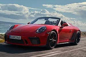 Porsche «розкрив» 502-сильний 911 Speedster