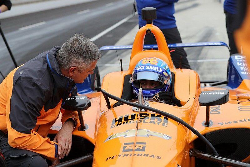 Alonso, 20º en el primer libre liderado por Carpenter