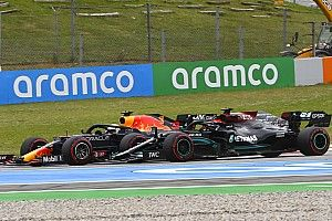 """Hamilton """"made sure"""" to give Verstappen space at Turn 1"""