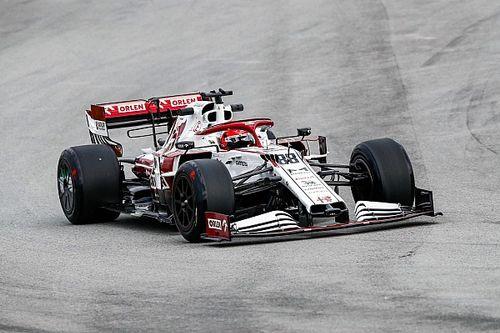 Test Pirelli: ecco Kubica con l'Alfa dotata delle gomme da 18