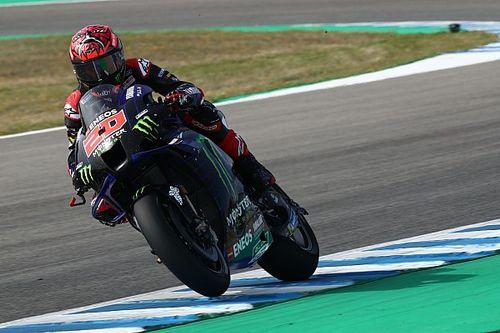Startopstelling voor de MotoGP Grand Prix van Spanje