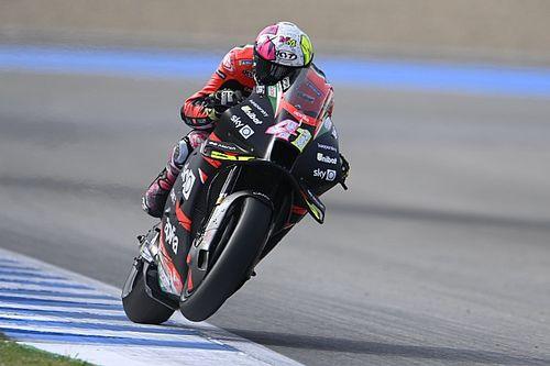 "Espargaro: Aprilia's Jerez MotoGP practice pace ""shocking"""
