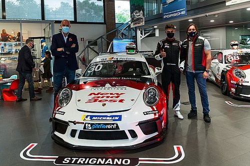 """Carrera Cup Italia, AB Racing ricomincia da tre: """"Puntiamo a crescere"""""""