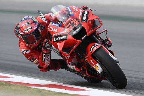 Bagnaia Pede Ducati Kompetitif di Sachsenring