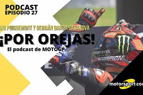 Podcast MotoGP 'Por Orejas' - El crecimiento de Yamaha contrasta con la caída de Honda