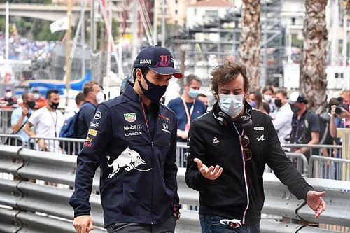 Alonso: Problemas de Pérez muestran lo difícil de gestionar los neumáticos