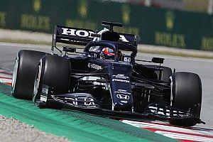 F1スペインFP2速報:ルイス・ハミルトンがトップタイム、角田裕毅は7番手