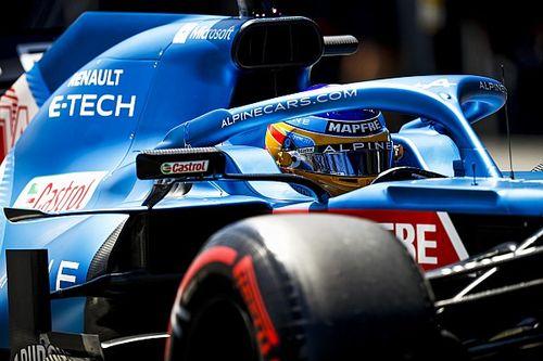 アルピーヌのアロンソ、フェラーリのポール獲得は「マシンの改善によるものではない」……常設サーキットに勝機見出す