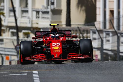 """Sainz: a Ferrari """"karnyújtásnyira"""" van attól, hogy igazi veszélyt jelentsen Monacóban"""