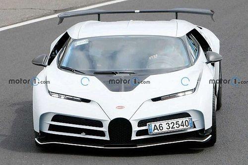 La Bugatti Centodieci à fond sur le Nürburgring