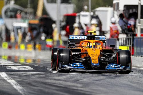 """Norris: Q1 traffic """"cost me"""" later in Spanish GP qualifying"""