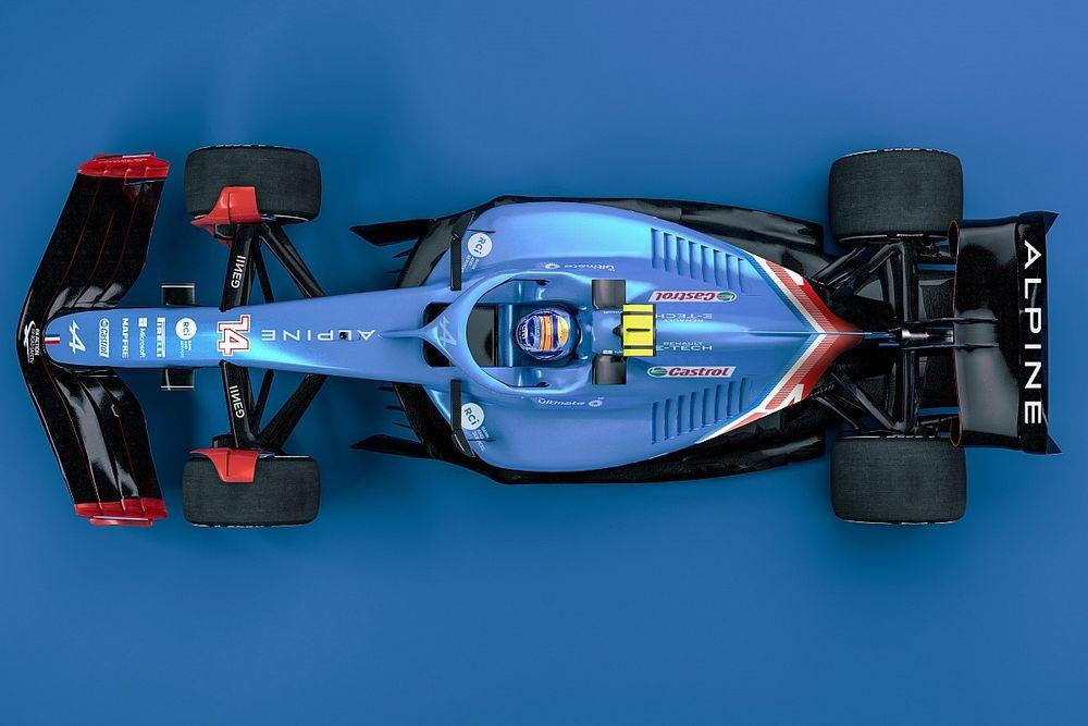 Por qué los coches de F1 serán diferentes entre sí en 2022