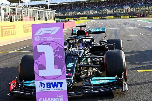 Hamilton arrancará primero en la sprint de Silverstone, Pérez top 5