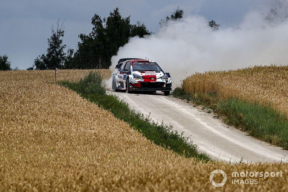WRC Estonya: Evans, ''rekabet'' konusunda %100 özgüvenli değil