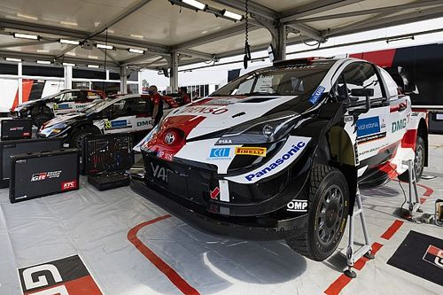 """Toyota a travaillé un """"point faible"""" avant le Rallye d'Estonie"""