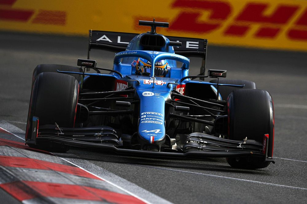 Alonso: Alpine's F1 rivals flattered by street circuit run
