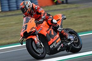 Petrucci snelste, crashes voor Marquez in Mir in warm-up Le Mans