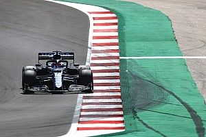 角田裕毅、F1ポルトガルGP予選でQ3進出ならず「ソフトタイヤでグリップが全くなかった」