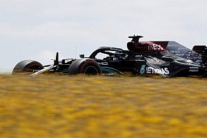 """Hamilton """"only had one good lap"""" in """"messy"""" Portimao qualifying"""
