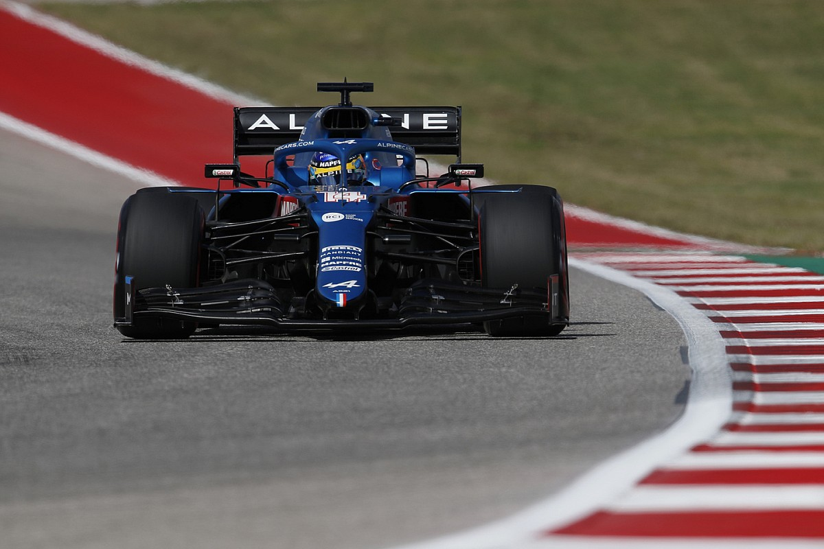 Alpine changed Alonso's F1 engine in Austin for performance gain