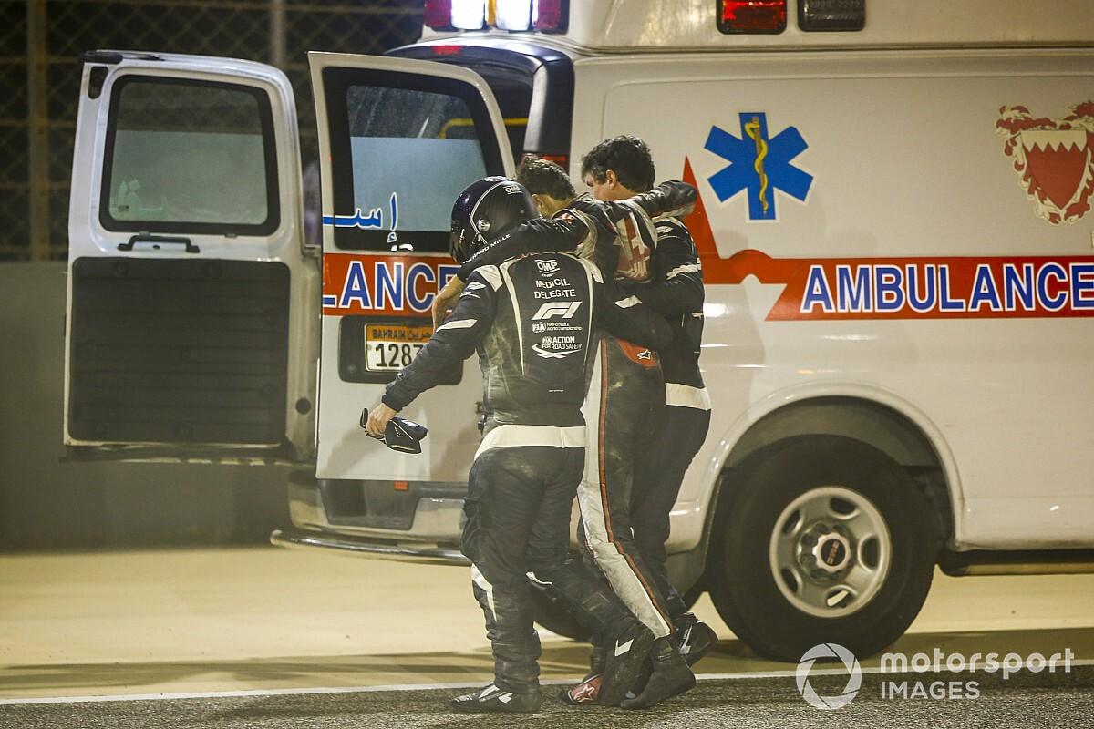 Grosjean kedden elhagyhatja a kórházat!