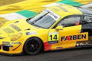 Porsche: Giassi se emociona com estreia no automobilismo 'real' na pole postion