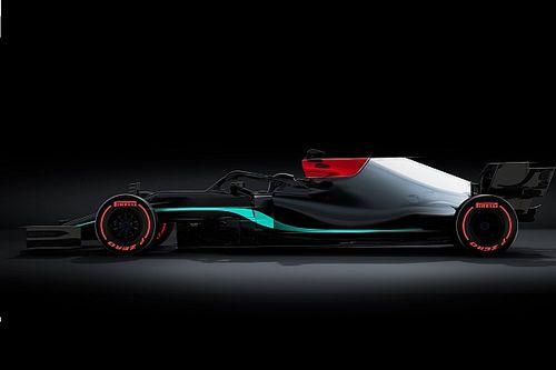 Mercedes svela in anteprima la livrea della W12?