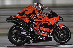 """Petrucci """"too big"""" for KTM MotoGP bike"""