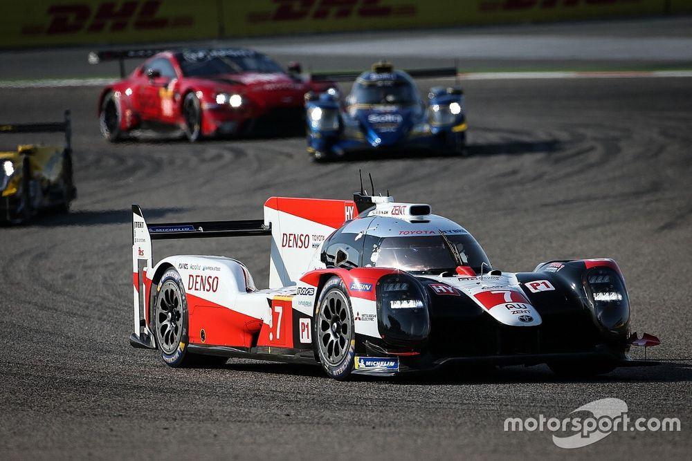 WEC, Bahrain, 4a Ora: dominio della Toyota #7, ok Porsche in GTE