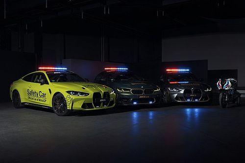 MotoGP, yeni BMW güvenlik araçlarını tanıttı