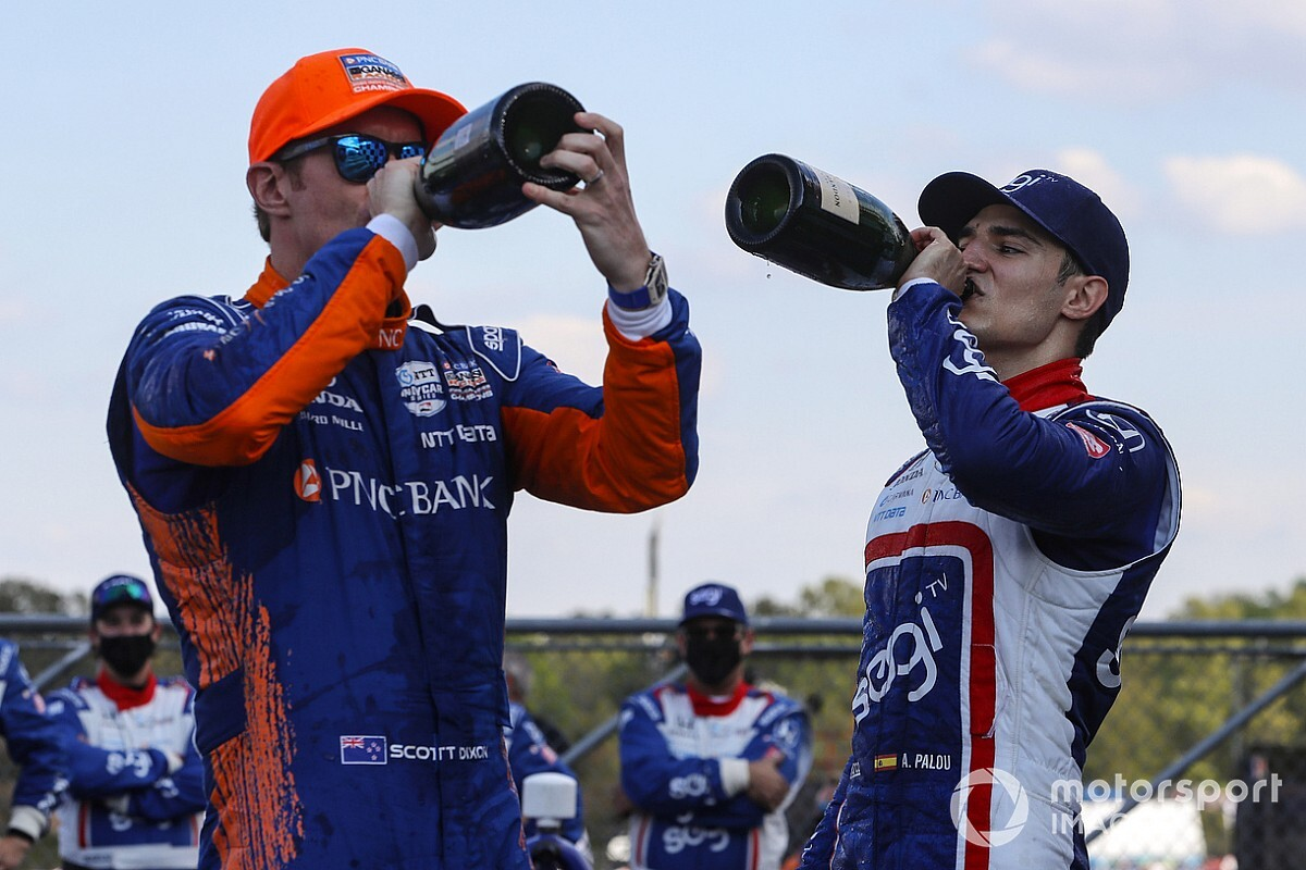 "Dixon predicts ""hell of a fight"" with IndyCar teammate Palou"