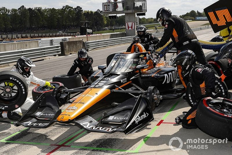 Brown wants to run third full-time Arrow McLaren SP in IndyCar