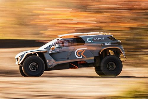Dakar 2021: sulle dune con la GCK E-Blast 1 elettrica!