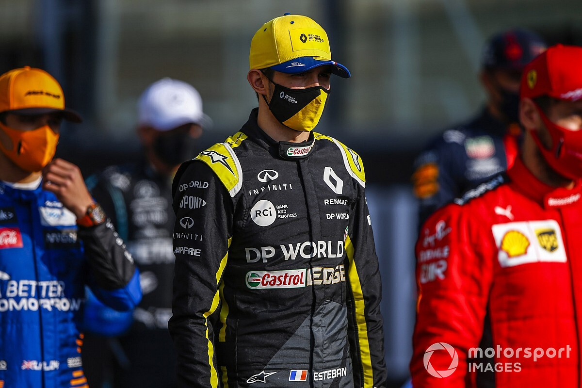 Ocon: Hard for F1 drivers to ease COVID-19 precautions
