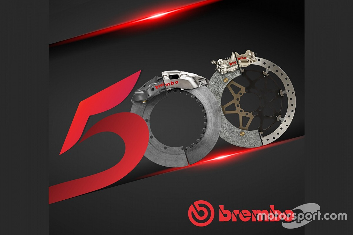 Brembo festeggia i 500 titoli mondiali nel Motorsport