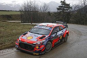 Tanak lidera el jueves en el Rally Montecarlo 2021